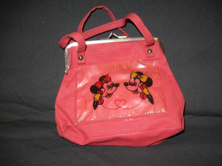Красная сумка Микки-Маус. Игрушки СССР - http://samoe-vazhnoe.blogspot.ru/ #сумки