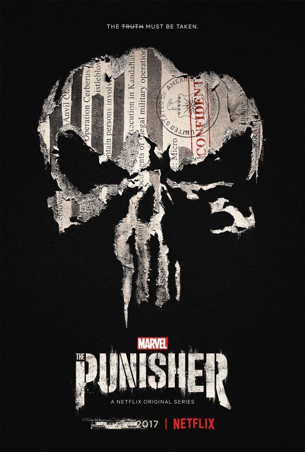 Poster de la primera temporada de The Punisher (2017 - ?)