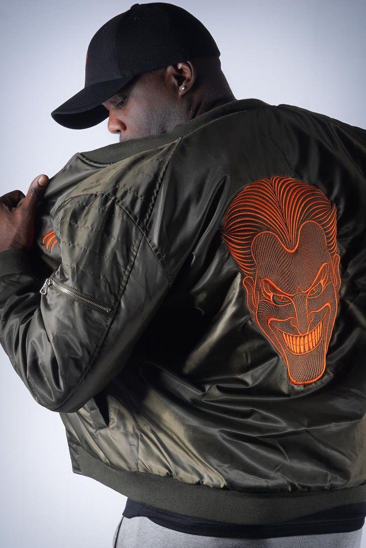 Why So Serious Joker mens bomber jacket