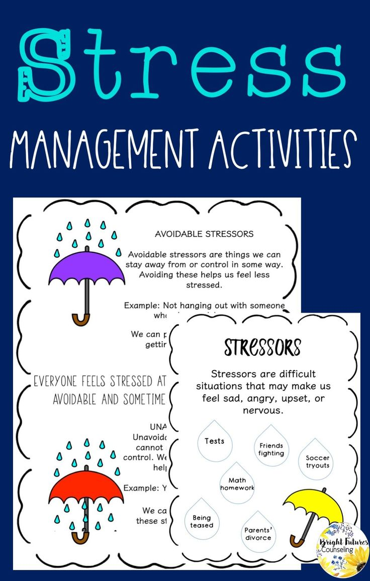 Relieving and Managing Stress Counseling Games and ...