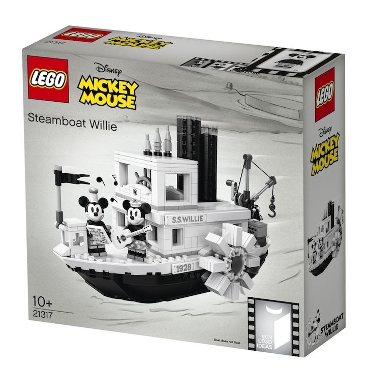 It S Nice That Mickey Mouse S 90th Birthday Celebrations Rumble On With A Steamboat Will Steamboat Willie Lego Disney Mickey Mouse Steamboat Willie