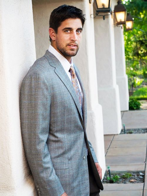 aaron rodgers. sexy as ever