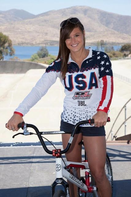 Cool chick! - Read this article from Magnolia BMX giving you some Fitness & Nutrition insight with Alise Post