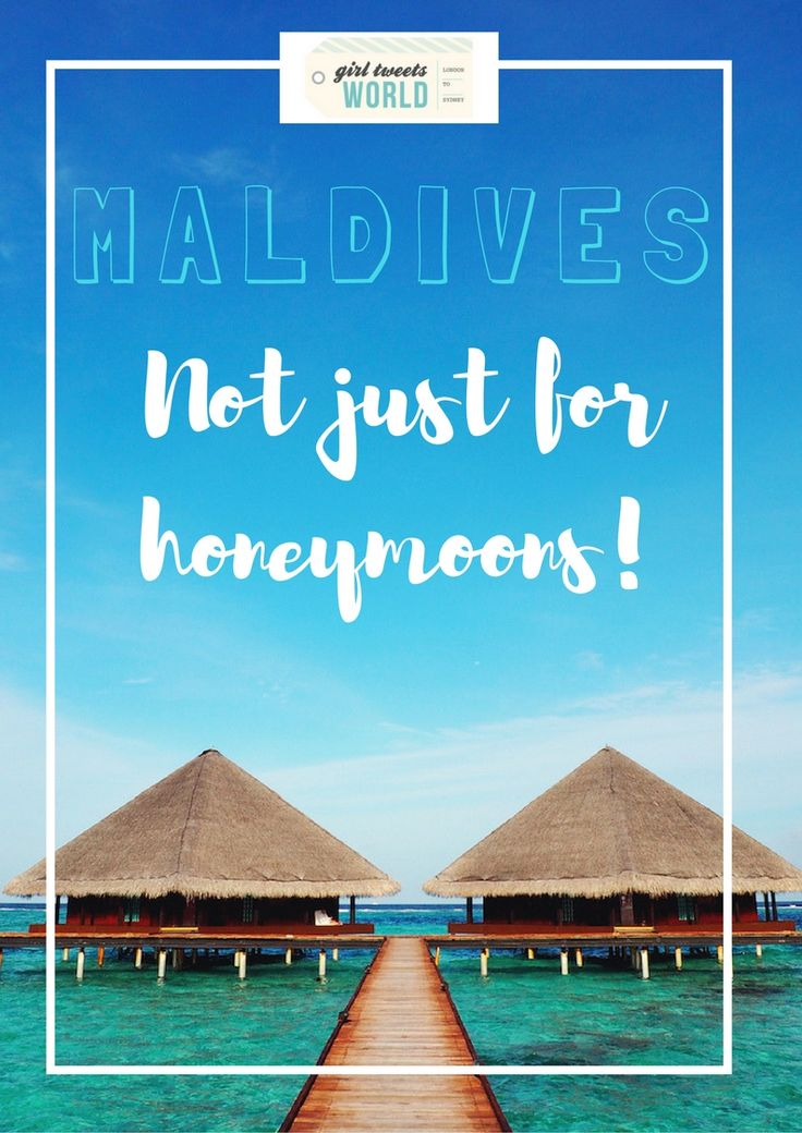 There's much more to the Maldives than you might think. Why these gorgeous islands in the Indian Ocean are not just for honeymoons or special occasions.