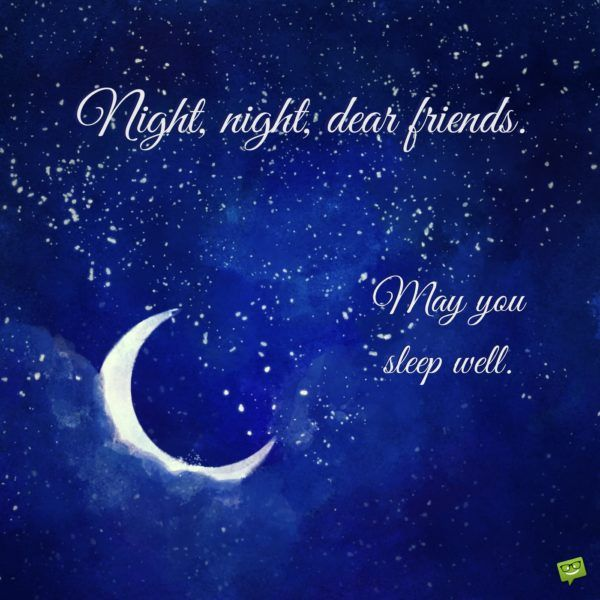 Soothing Funny And Inspirational Good Night Messages