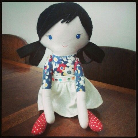 New poppetto doll hand crafted by me ♡