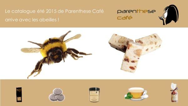 Le catalogue estival 2015 de Parenthese Café est arrivé !