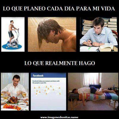 Imagenes Chistosas Para Facebook: Plan De Vida