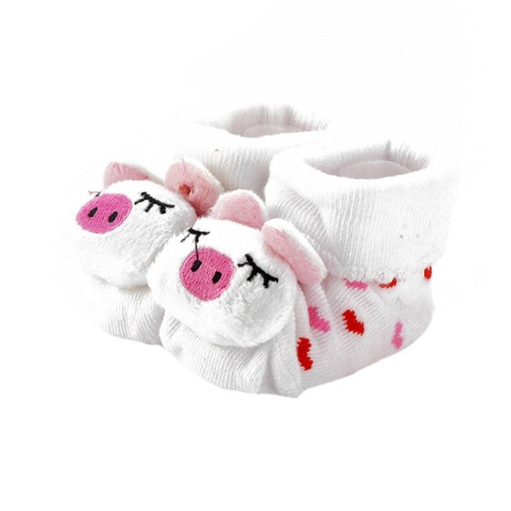 Tier Baby Kinder Anti-Rutsch-Schuhe junge Mädchen Baumwolle Prewalker