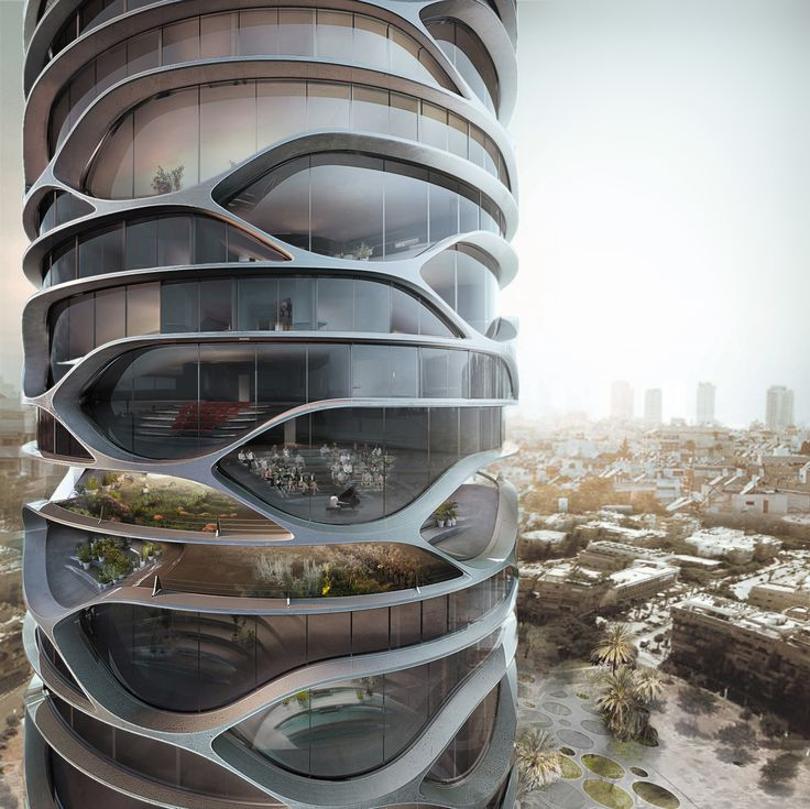 Tel Aviv's Gran Mediterraneo Tower Could Transform the City's Skyline