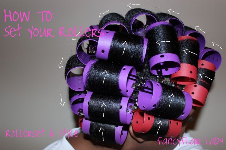 Direction of rollers for roller set