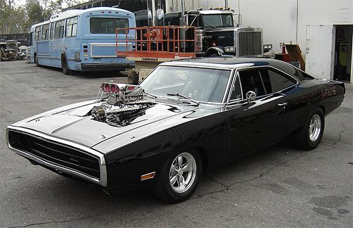 Dodge Charger - Fast and Furious, This Monster has never seen a set of tail lights.