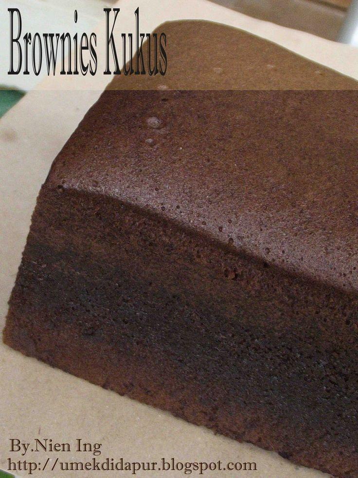 Umek di Dapur: Brownies Kukus