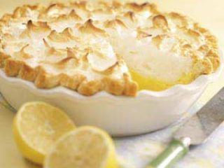 Torta meringata al limone