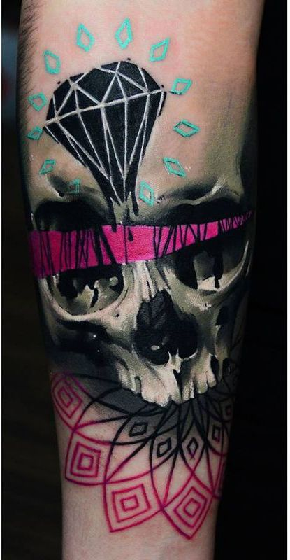 Skull Tattoos by Timur Lysenko from Poland #ink #tattoo