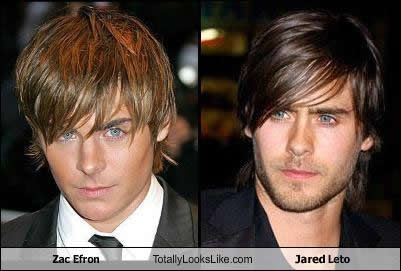 No seriously! I am glad I haven't been the only one thinking this LOL oh Jordan Catalano #Efron #JaredLeto