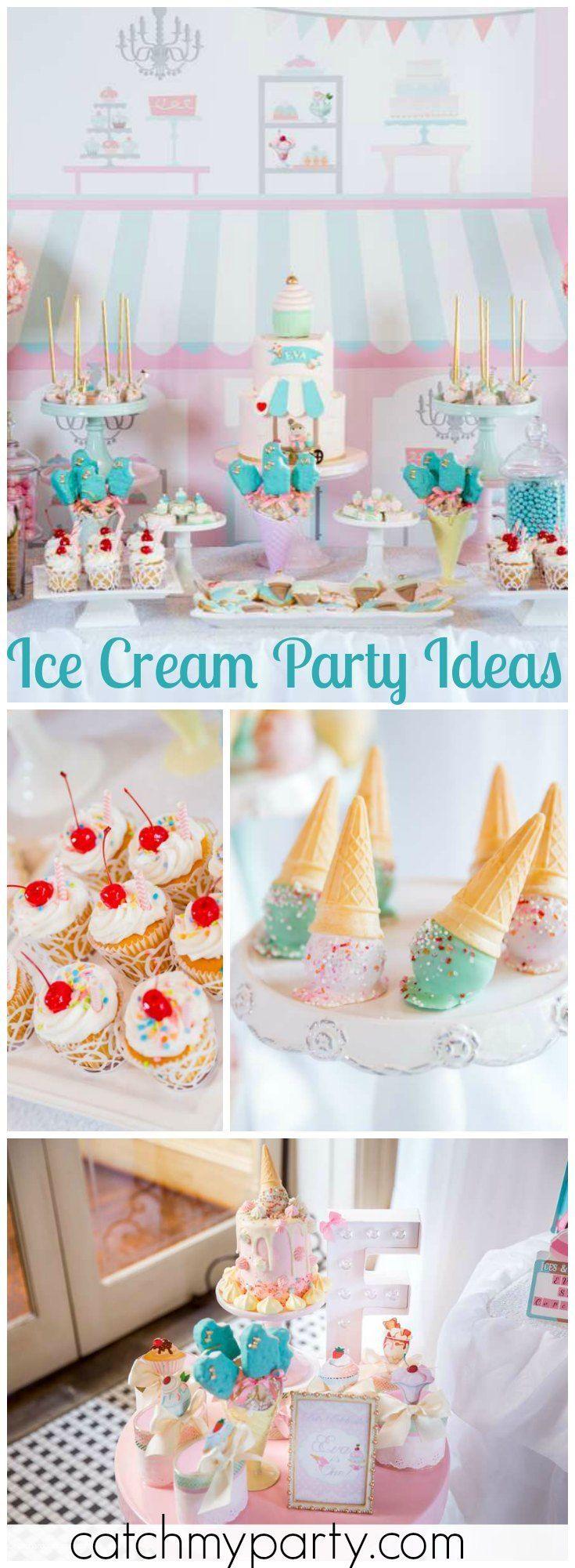 417 best Ice Cream Party Ideas images on Pinterest | Birthdays ...
