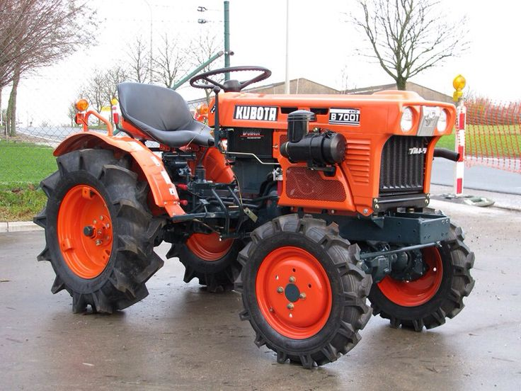 Kubota B7100 Loader Attachment : The best kubota compact tractor ideas on pinterest