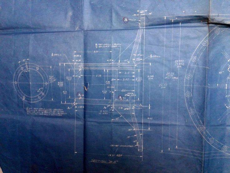 101 best old blue prints drafting tools engineers maps supplies vtg blueprint 1944 aeronautics aircraft engine lab cleveland oh flow blower malvernweather Choice Image