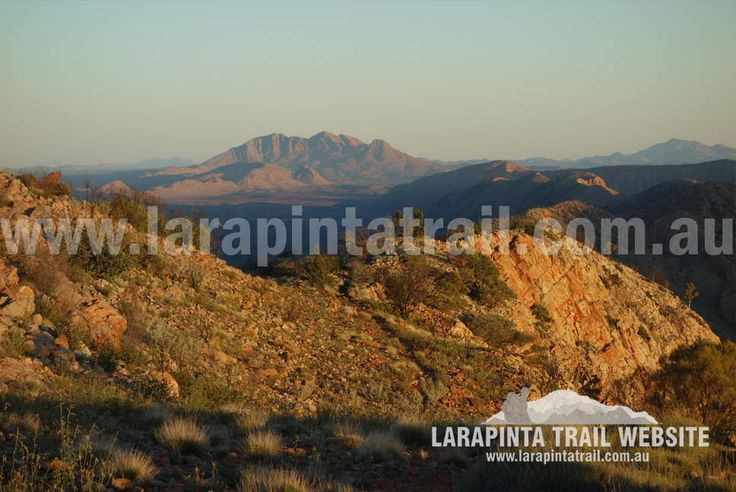 Mount Giles Lookout Campsite. Mt Sonder in the far distance. Image looking W. Section 9. © Explorers Australia Pty Ltd 2014