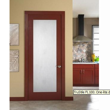 TruStile's standard product offering includes over 400 style options, 66 profile options and 22 material options. The selection, however, does not stop there. Our made-to-order manufacturing enables us to make custom modifications to obtain the look you desire with the functionality you require. TruStile doors are available in premium MDF for painted applications and 14 wood species for stained applications.