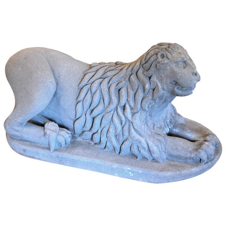 Spanish Colonial Lion, 18th C