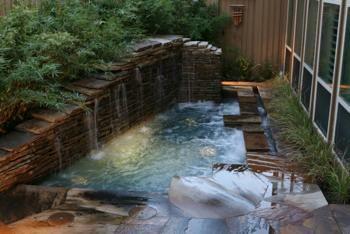 inground hot tubs: Hot Tubs Waterf, Ground Hot, Backyard Oasis, Natural Pools, Dreams Pools, Natural Looks, Hot Spring, Outdoor Pools, Backyard Hottub