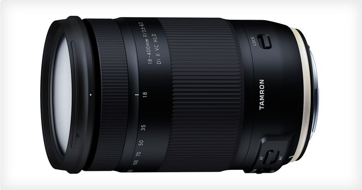 "Tamron has announced the 18-400mm f/3.5-6.3 Di II VC HLD, which it is calling ""the world's first ultra-telephoto all-in-one zoom lens"" with an extremely fl"