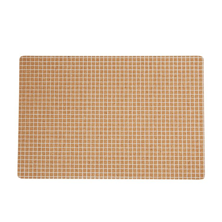 Cork Placemat Whtite Grid Set4 – Shut the Front Door! online