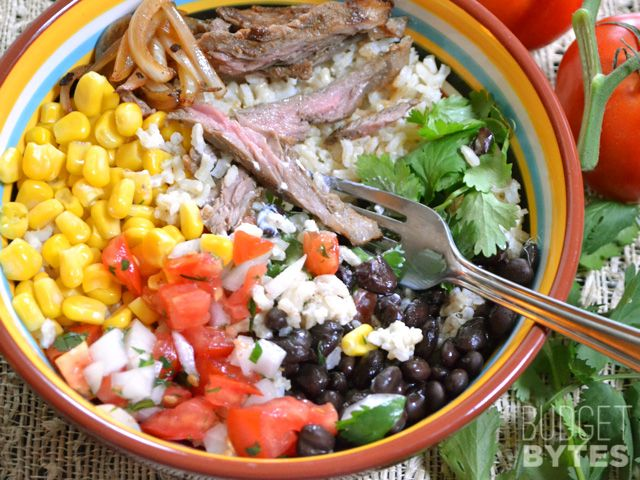 Southwest Steak Bowls - Budget Bytes