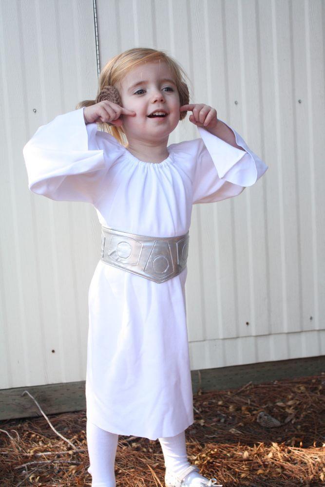 Princess Leia costume+belt tutorial