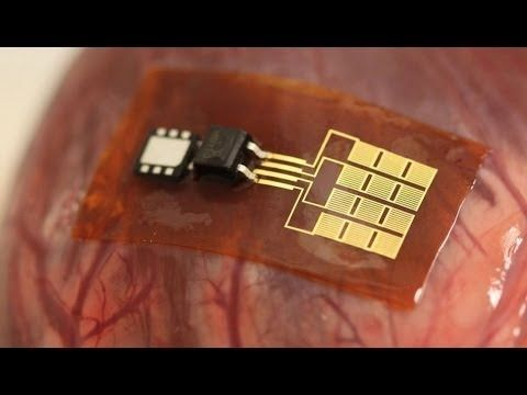 ▶ El chip que convierte el latido del corazón en energía renovable - YouTube