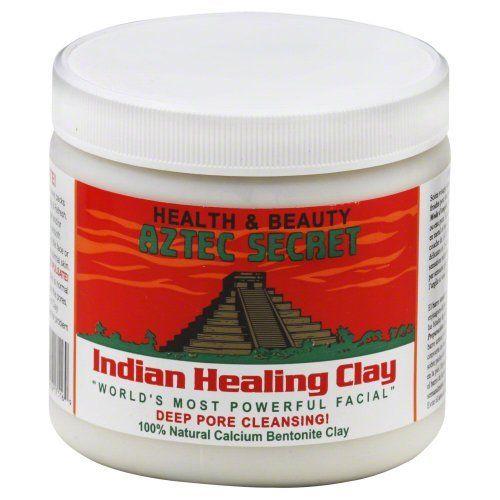 Aztec Secret Indian Healing Clay Deep Pore Cleansing, 1 Pound Aztec Secrets,http://www.amazon.com/dp/B0014P8L9W/ref=cm_sw_r_pi_dp_FFFxsb0VSGY3KY7H