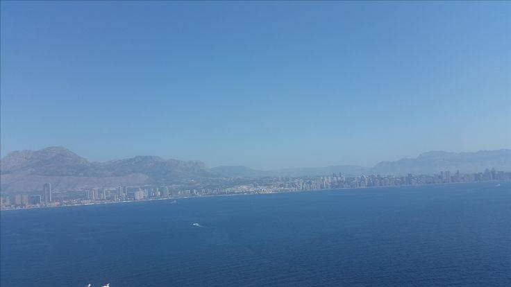 """Benidorm view from """"Isla de Benidorm"""""""