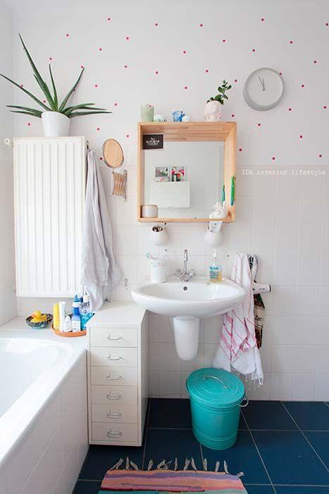 27 mejores imágenes de baños en pinterest | interiores ... - Ideas Para Decorar Un Bano Sin Obras