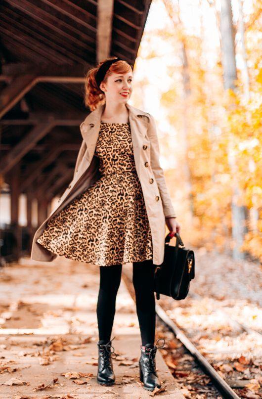 fb4e086c5f Animal print dress 50+ best outfits