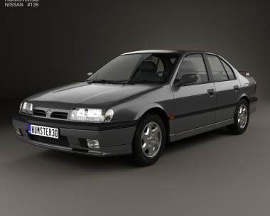 3D model of Nissan Primera 1990