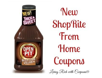 New ShopRite From Home Coupons - FREE Open Pit BBQ Sauce  More! - http://www.livingrichwithcoupons.com/2014/06/new-shoprite-home-coupons-free-open-pit-bbq-sauce-done.html