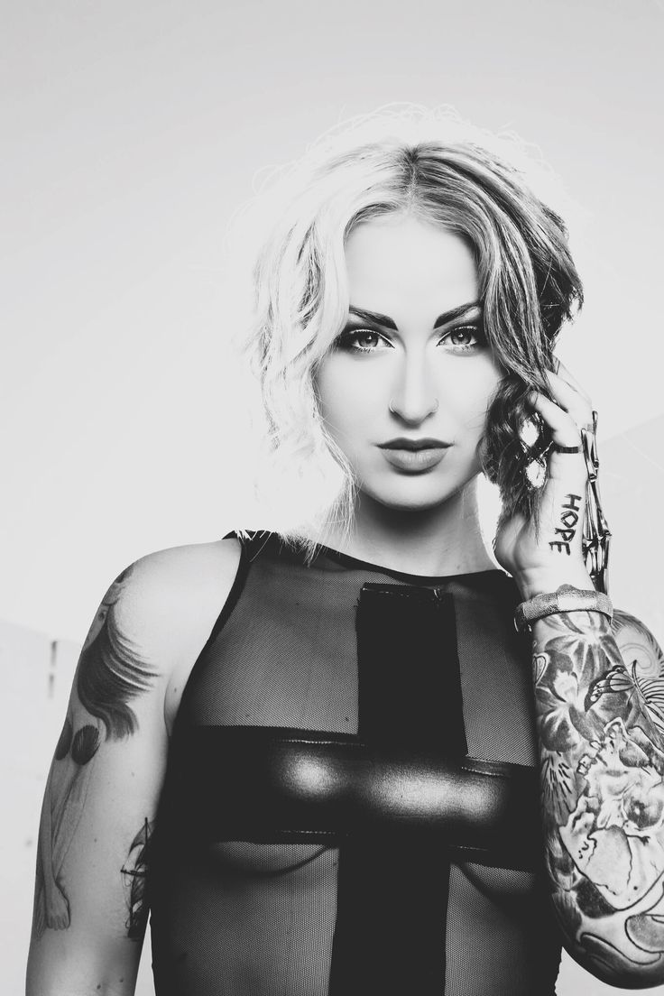 Black and White tattooed alternative model portrait photography inked ...: https://www.pinterest.com/pin/545076361126675706