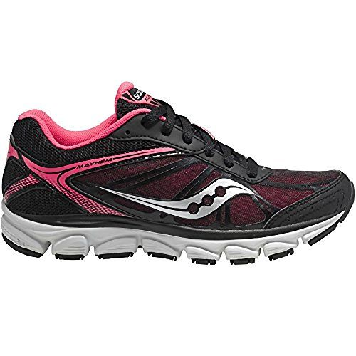 Saucony Mayhem US 65 Women BLKPINKGRY * More info could be found at the  image url