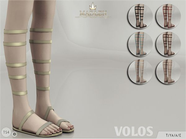 The Sims Resource: Madlen Volos Shoes by MJ95 • Sims 4 Downloads