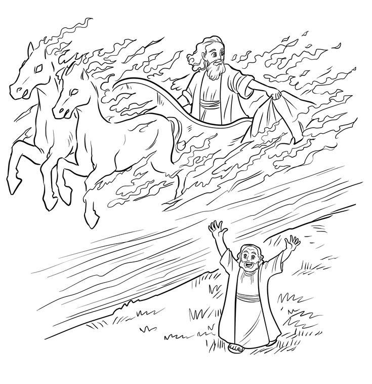 11 best Elijah and Elisha preschool Bible crafts images on