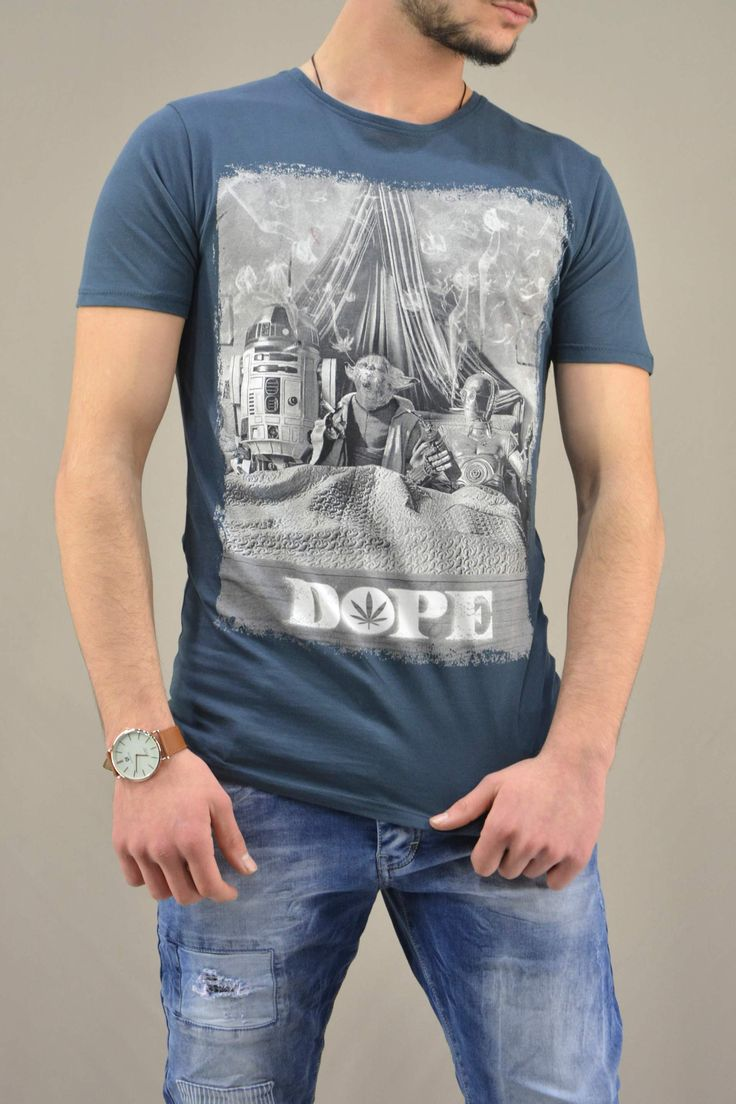 Aνδρικό t-shirt Star Wars Yoda Dope | Άνδρας - T-shirts/Μπλούζες