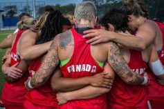 Canada's first Olympic rugby sevens team will play for bronze, after falling to Australia 17-5 in Monday's semifinal. The Canadians...
