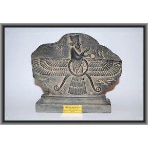Statue en résine représentant le dieu Favarad , période Achéménide