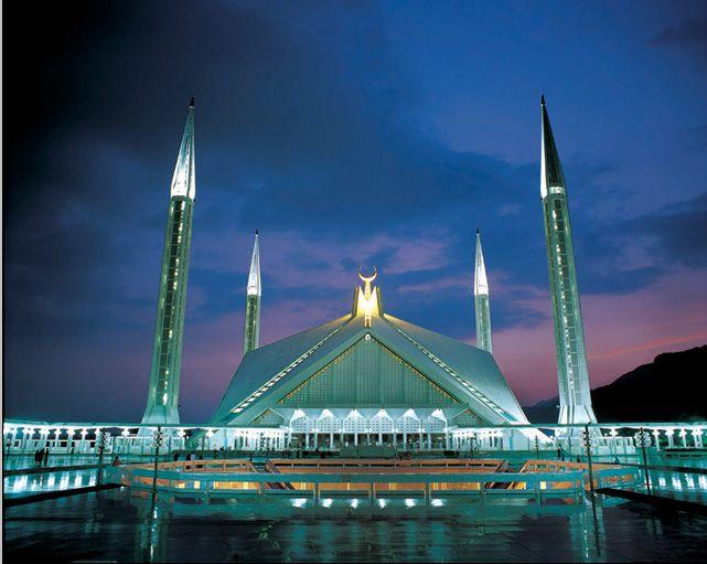Faisal Mosque - Islamabad, Pakistan