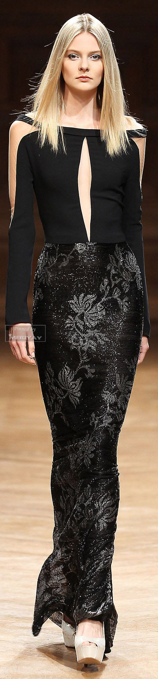 Tony ward fw 2014 15 haute couture collection evening for Haute couture male