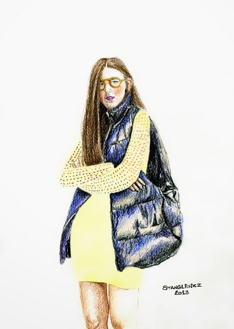 #aleksandrastanglewicz #fashionillustration #illustration #art #blogger #variacje