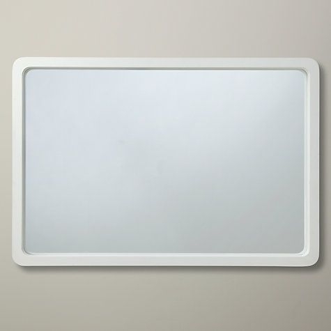Buy House by John Lewis Rounded Corner Mirror, 75 x 50cm Online at johnlewis.com