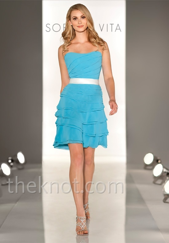 Bridesmaid dress..in black with yellow belt, or yellow with black belt